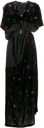Chalayan Face Print dress