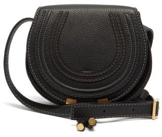Chloé Marcie Mini Leather Cross-body Bag - Black