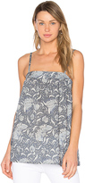 Vince Vintage Floral Cami in Blue. - size L (also in S,XS)