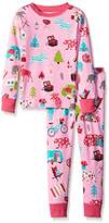 Hatley Little Blue House by Girl's Kids-Glamping Pyjama Set