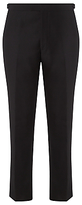 John Lewis Regular Fit Dress Suit Trousers, Black