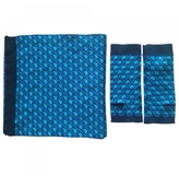 Marc Jacobs Blue Wool Scarf
