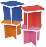 Bed Bath & Beyond Way Basics Charlotte Stools (Set of 4) - Multi-Colored