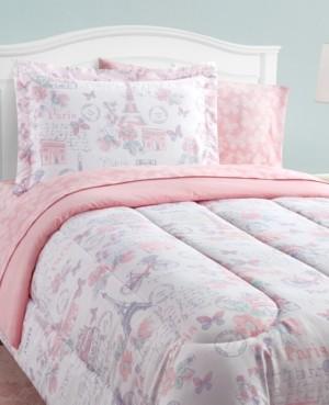 Mytex Parisian Petals 8-Piece Twin Bed in a Bag Set Bedding