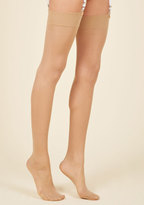 ModCloth Smoothing and Grooving Thigh Highs in L/XL