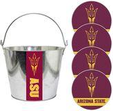Arizona State Sun Devils Metal Drink Bucket & Paper Coaster 5-piece Set