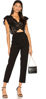 Rebecca Taylor Sleeveless Lace Jumpsuit