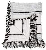 Baja East Cashmere and Wool Throw Blanket