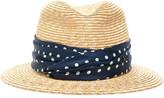 Maison Michel Bobbie Straw Hat
