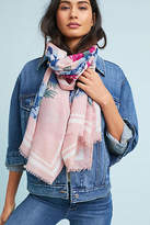 Anthropologie Angie Floral Scarf