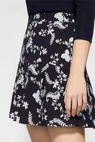 Witchery Printed Flip Mini Skirt