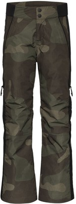 Holden Camouflage-Print Ski Trousers