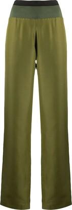 Haider Ackermann Elasticated Waistband Trousers