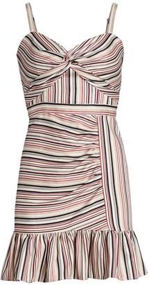 Parker Risa Striped Mini Dress
