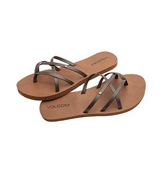 Volcom Women's Criss Cross Strap Sandal Water Shoe
