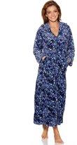 M&Co Animal print fleece zip robe