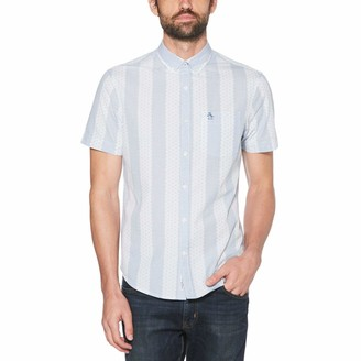 Original Penguin Square Dobby Stripe Shirt
