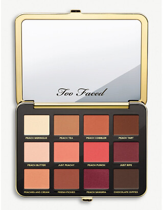 Too Faced Cream, Brown and Pink Just Peachy Eyeshadow Palette, Size: 15g