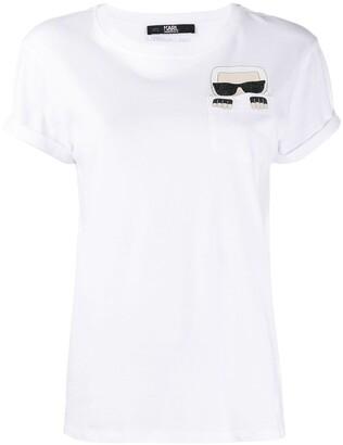 Karl Lagerfeld Paris 'Karl' print T-shirt