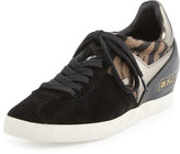 Ash Guepard Hidden-Wedge Sneaker, Clay/Black