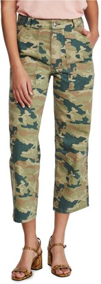 Free People Remy Camouflage Pants