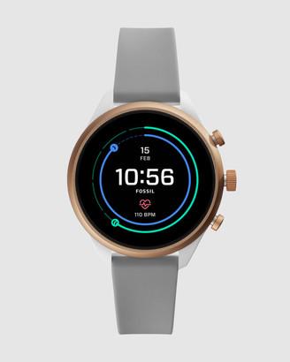 Fossil Sport Smartwatch - 41mm Grey Silicone