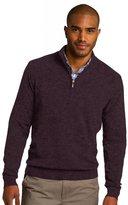 Port Authority Men's 1/2 Zip Sweater XL Charcoal Heather