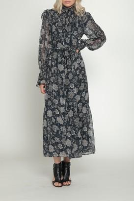Walter Baker Lakendra Floral Maxi Belted Dress