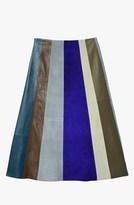 Derek Lam Patchwork A-Line Skirt