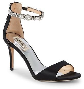 Badgley Mischka Sindy Bejeweled d'Orsay Sandals