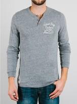 Junk Food Clothing Nfl Green Bay Packers Henley-steel-m