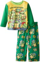 Nickelodeon Teenage Mutant Ninja Turtles Little Boys' Ninja Selfie 2-Piece Pajama Set