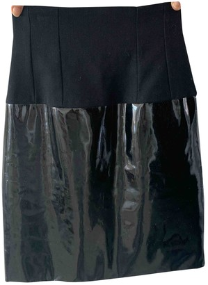 Christian Dior Black Patent leather Skirts