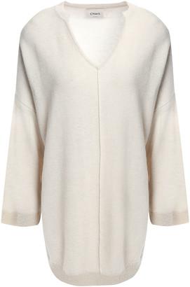 Charli Metallic-trimmed Merino Wool Sweater