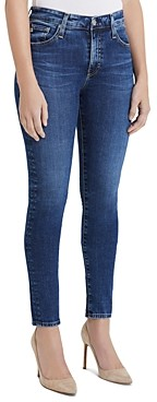 AG Jeans Super Skinny Jeans in Decidious