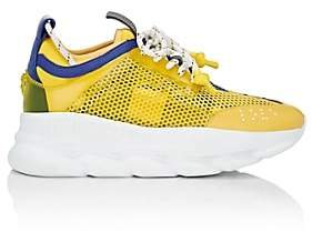 Versace Women's Chain Reaction Sneakers - Yellow