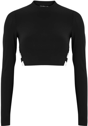 Vaara Orie Monochrome Cropped Top