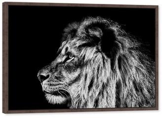 west elm Lion Wall Art