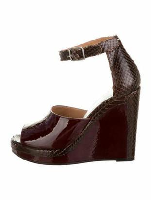 Maison Margiela Patent Leather Sandals w/ Tags