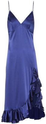 Caroline Constas Elvira silk slip dress