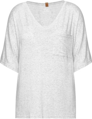 Tru Barbados Riss Tee - Light Grey