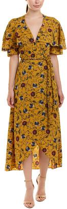 MISA Yasaman Wrap Dress
