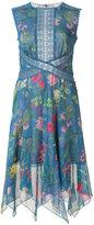 Tadashi Shoji floral print dress - women - Polyester - 6