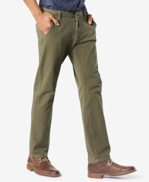 Dockers Alpha Smart 360 Flex Slim Tapered Fit Khaki Stretch Pants