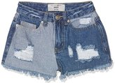 New Look 915 Girl's Patch Denim Shorts