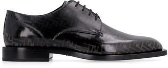 Fendi Smooth Leather Lace-up Shoes