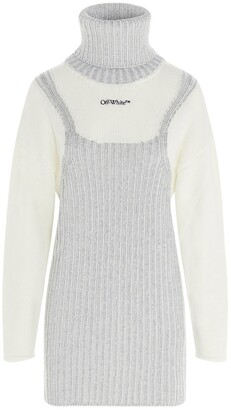 Off-White Turtleneck Pullover