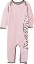 Coccoli Stripe Sleeve Unionsuit (Baby)