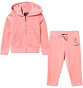 Juicy Couture Pink Floral Crest Logo Tracksuit