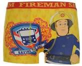 Character Kids Boys Fireman Sam Single Boxer Shorts Printed Underwear Infant